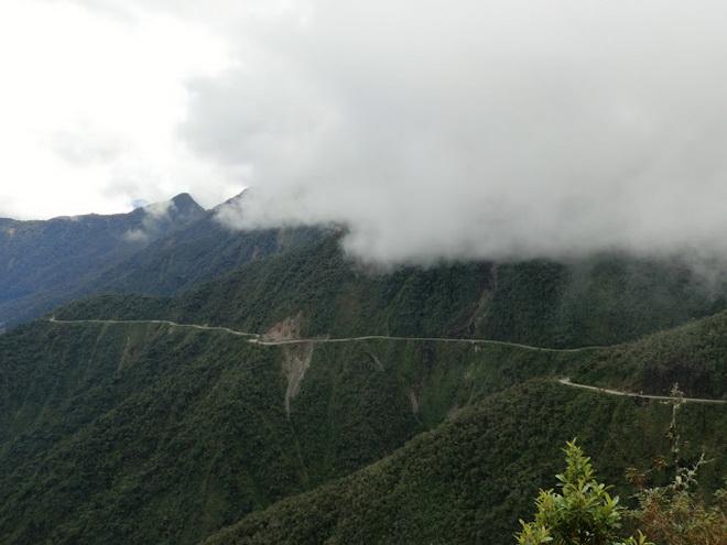 Дорога смерти. Боливия