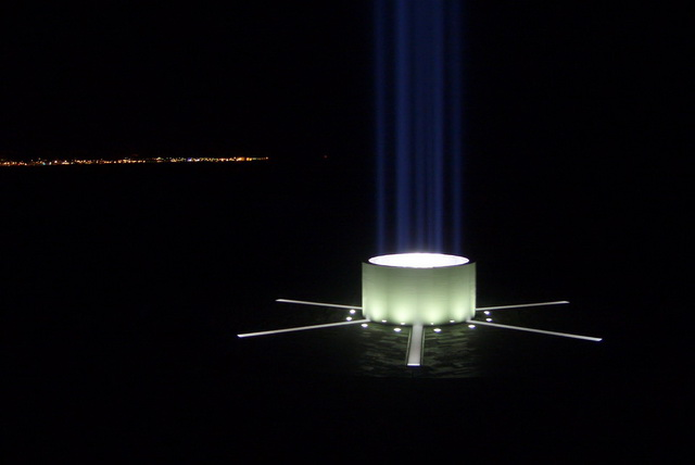 Imagine Peace Tower. Исландия