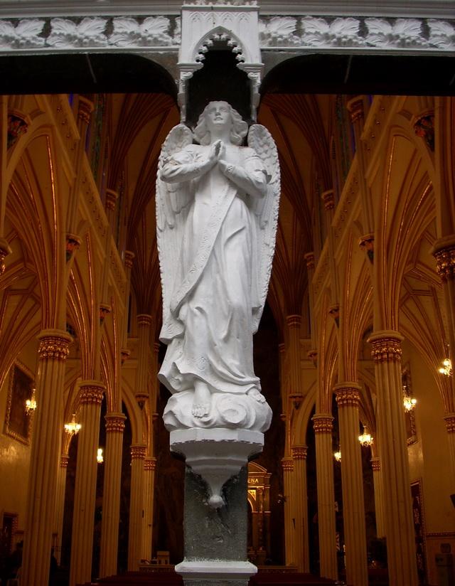 Церковь Лас-Лахас (Las Lajas Cathedral). Колумбия