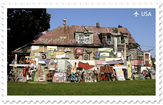 The Heidelberg Project — необычный арт-проект в Детройте
