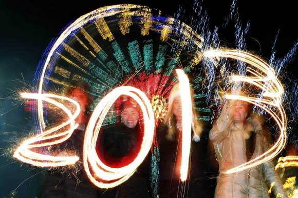 Новый Год 2013. Празднования в разных городах мира