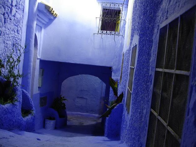 Город Шефшауэн. Марокко