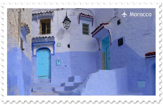 Шефшауэн – синий город в Марокко