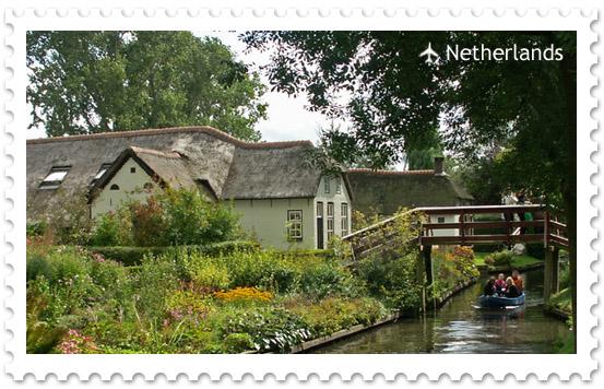 Деревня Гитхорн — голландская Венеция