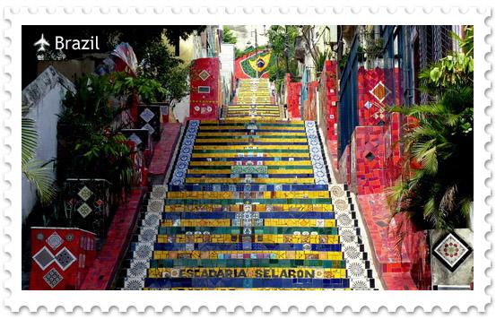 Лестница Селарона в Рио