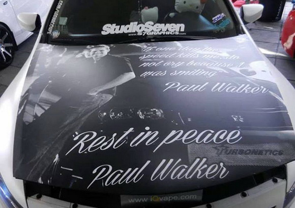 Заезд памяти Пола Уокера