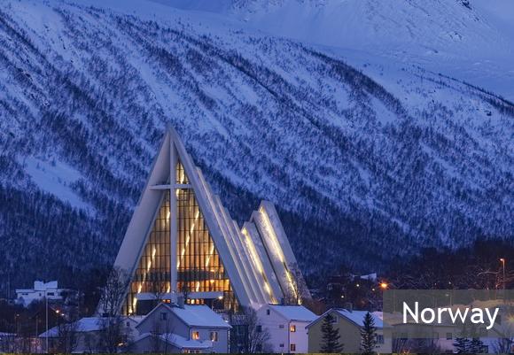 Арктический собор в Норвегии