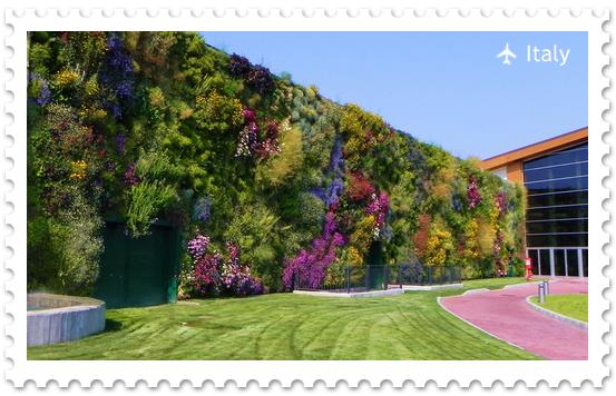 Вертикальный сад в Россано – крупнейший вертикальный сад в мире