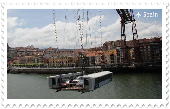 Бискайский мост  – летающий паром в Бильбао