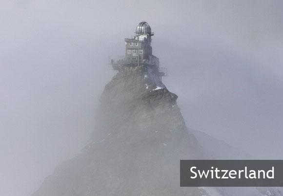 "Обсерватория ""Сфинкс"" в Швейцарии"