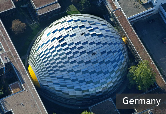 Мозг Берлина – библиотеки Свободного университета Берлина