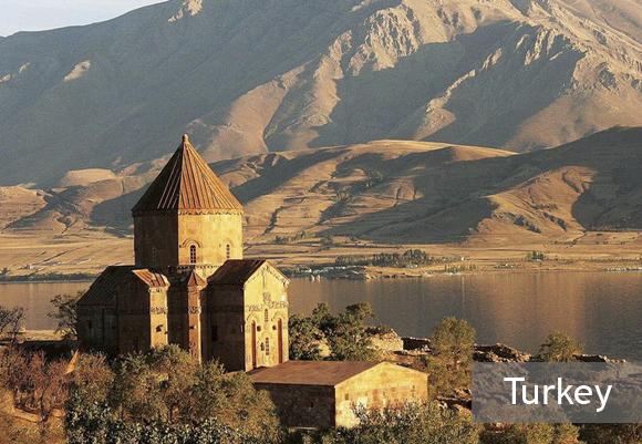 Церковь Святого Креста в Турции