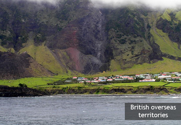 Острова Святой Елены, Вознесения и Тристан-да-Кунья. Тристан-да-Кунья