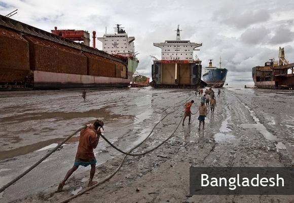 Свалка кораблей Читтагонг