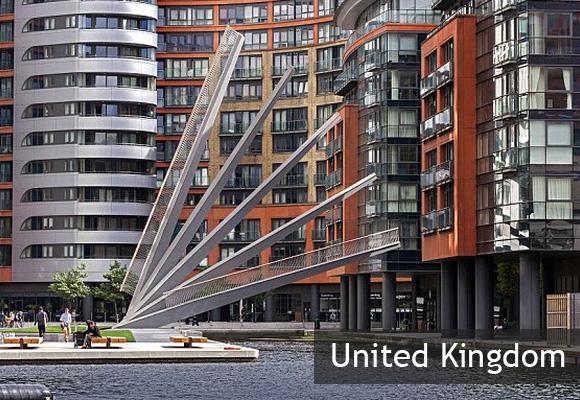 Мост-веер в Лондоне