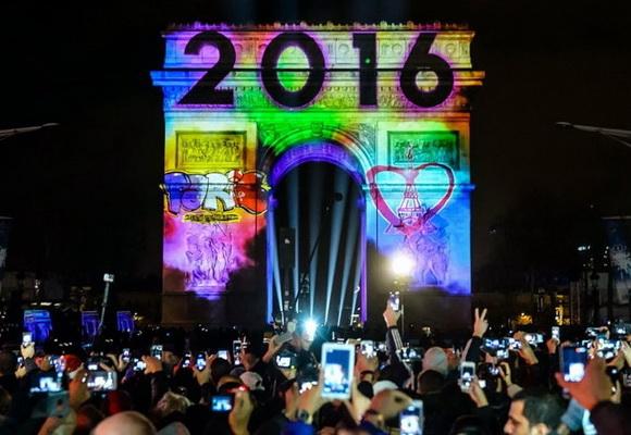 Новый Год 2016. Празднования в разных городах мира