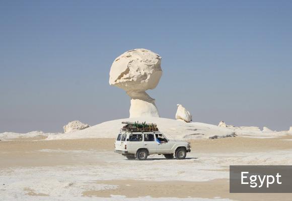 Белая и Черная пустыни Египта