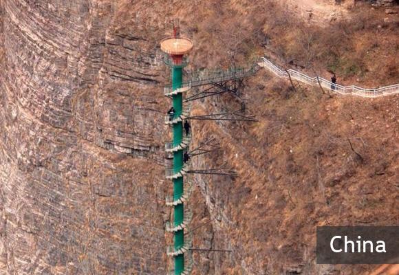 Спиральная лестница Тяйхань