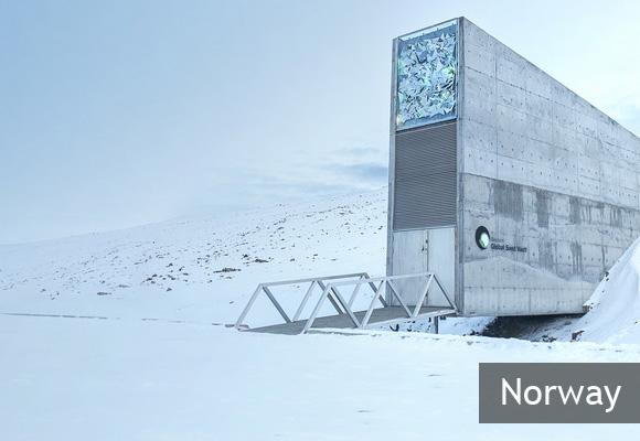 Всемирное семенохранилище Свальбард