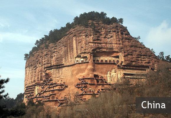Пещеры Майцзишань