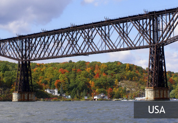 Poughkeepsie Bridge — самый длинный пешеходный мост в мире