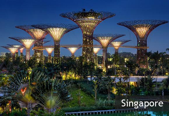 Парк «Сад у Залива» в Сингапуре