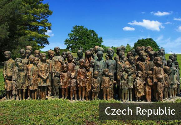 Мемориал детским жертвам войны в Лидице