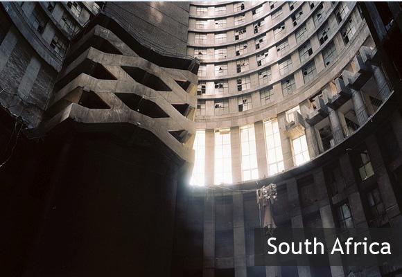 Небоскреб Понте Сити в Йоханнесбурге