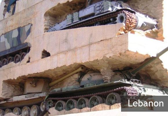 Танковый монумент «Надежда на мир»