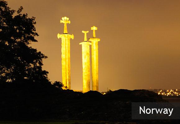 Памятник «Мечи в скале»