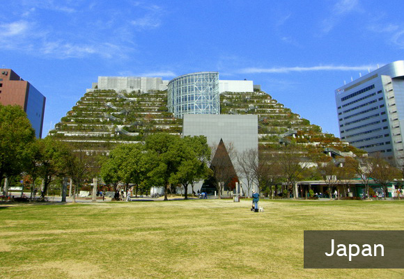 Офисное здание Acros Fukuoka
