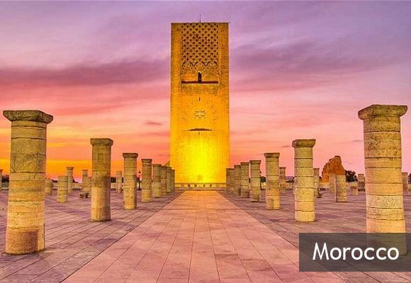 Башня Хасана в Марокко