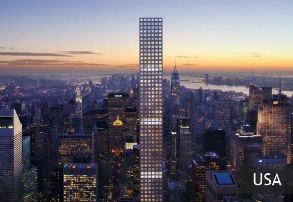 Небоскреб 432 Park Avenue – самый высокий жилой дом в мире