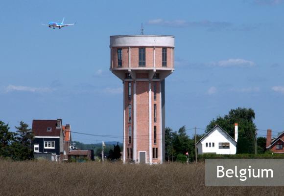 Жилой дом в водонапорной башне