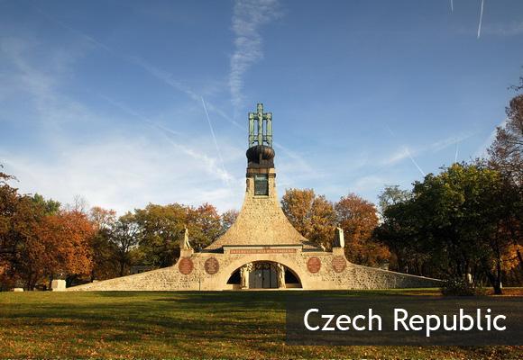 Мемориал Могила Мира в Чехии