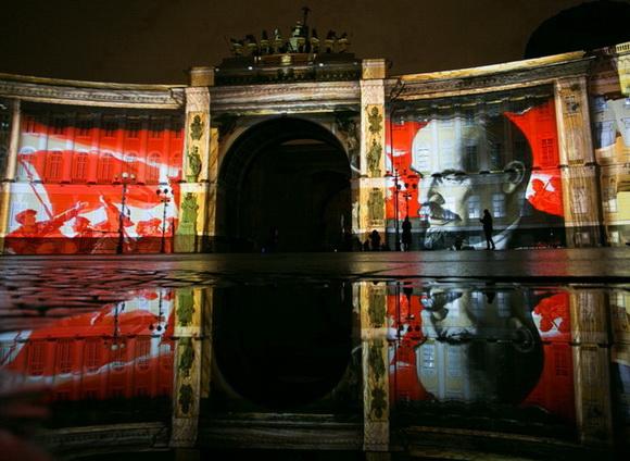 Фестиваль света в Петербурге