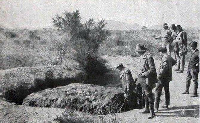 Hoba-meteorit (1)