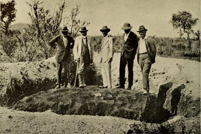 Hoba-meteorit (2)