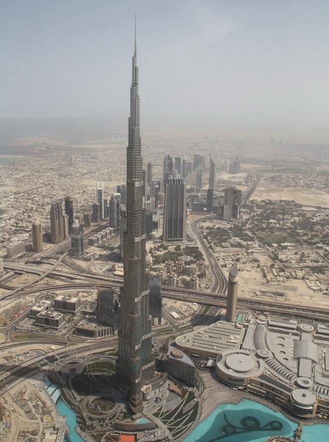 Высочайшие небоскребы мира. Burj Khalifa