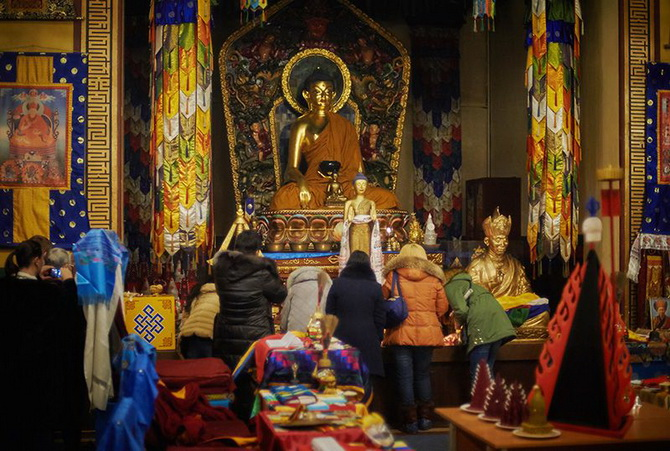 Буддийский храм Санкт-Петербурга