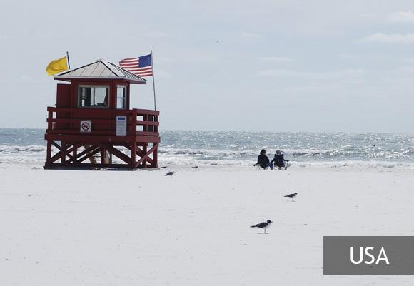 Сиеста — самый красивый пляж США